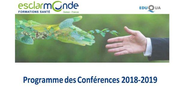 Notre programme de conférences 2018-2019…